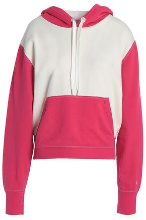 RAG & BONE Two-tone hooded sweatshirt
