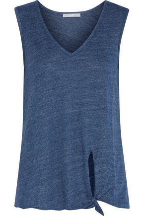 TART COLLECTIONS Lilla knotted jersey tank