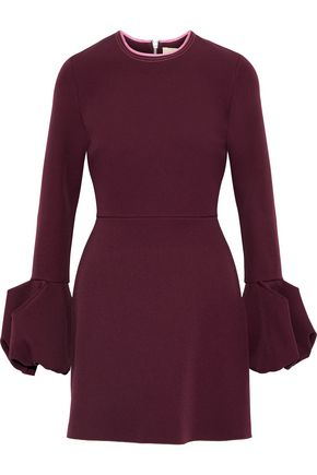 ROKSANDA Fluted crepe mini dress