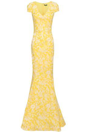 ZAC POSEN Jacquard gown