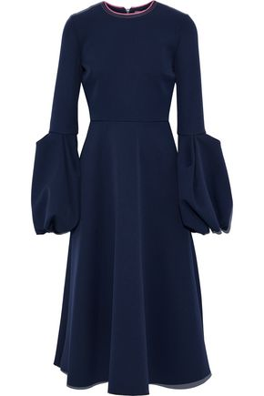 ROKSANDA Gathered crepe midi dress