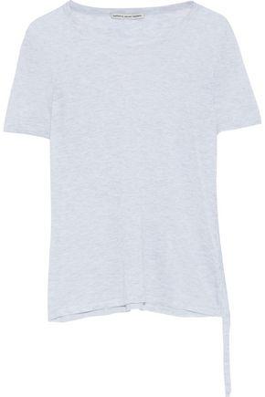 COTTON by AUTUMN CASHMERE Mélange slub cotton-jersey T-shirt
