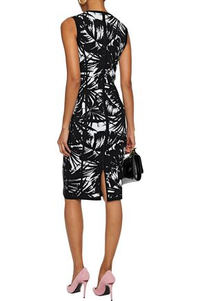 MICHAEL KORS COLLECTION Intarsia-knit dress