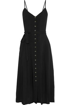 TART COLLECTIONS Juliet shirred voile midi dress