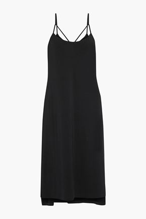 TART COLLECTIONS Morena cutout stretch-modal midi slip dress