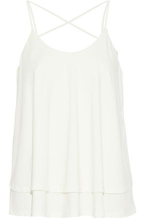 TART COLLECTIONS Tiered stretch-modal top