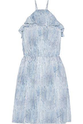 TART COLLECTIONS Raffaella printed crepe de chine mini dress