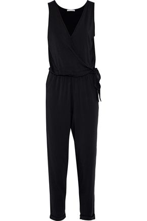 TART COLLECTIONS Bettina wrap-effect stretch-modal jumpsuit