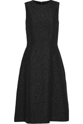 DOLCE & GABBANA Flared matelassé dress