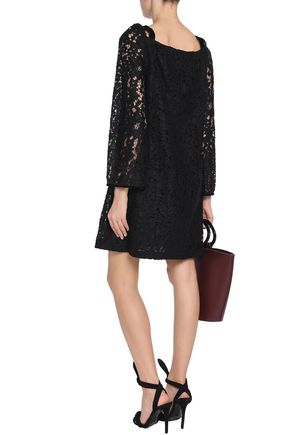 SEE BY CHLOÉ Cutout cotton-blend corded lace dress