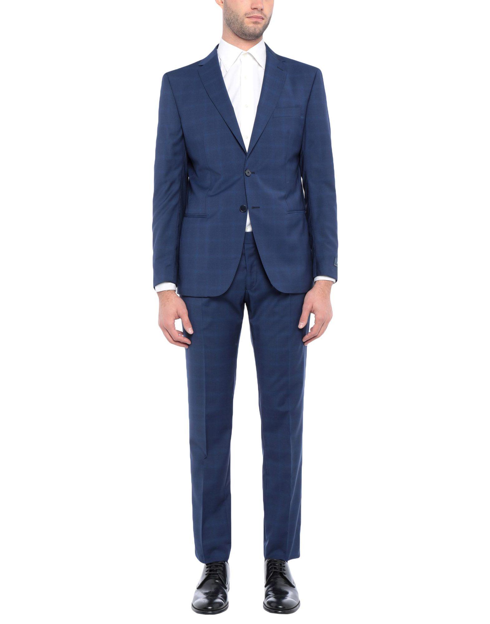 《セール開催中》ROYAL ROW メンズ スーツ ダークブルー 54 バージンウール 100%
