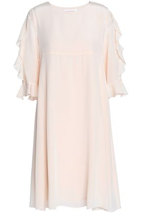 SEE BY CHLOÉ Ruffled crepe de chine dress