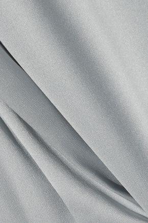 DOLCE & GABBANA Stretch-silk satin shirt