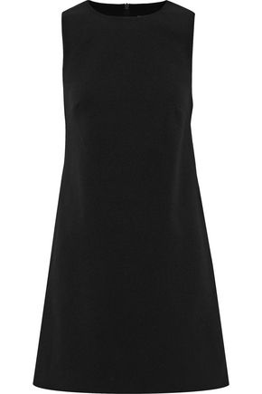 TIBI Cutout stretch-crepe mini dress