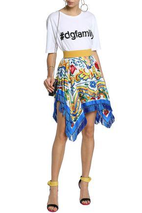 949dc428896 DOLCE   GABBANA Sequin-embellished cotton-jersey T-shirt