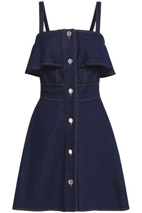SEE BY CHLOÉ Layered denim mini dress