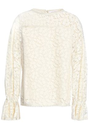 SEE BY CHLOÉ Cotton-blend lace top