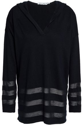 AUTUMN CASHMERE Cotton hooded sweater