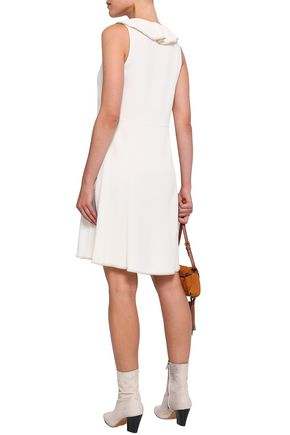 SEE BY CHLOÉ Ruffled stretch-crepe dress