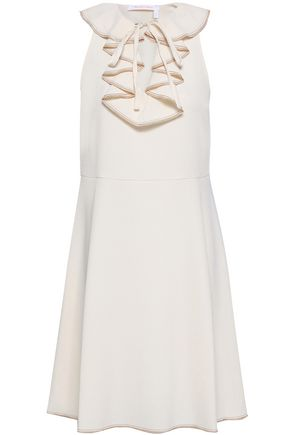 6dbcbf5b74 SEE BY CHLOÉ Ruffled stretch-crepe dress