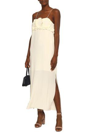0a6e660bb5 SEE BY CHLOÉ Ruffled silk crepe de chine midi dress