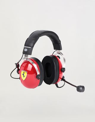 Scuderia Ferrari Online Store - T.Racing Scuderia Ferrari Edition gaming headphones by Thrustmaster - Headphones