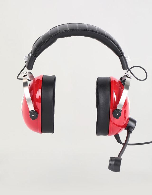 Scuderia Ferrari Online Store - T.Racing Scuderia Ferrari Edition gaming headphones by Thrustmaster - Headphones