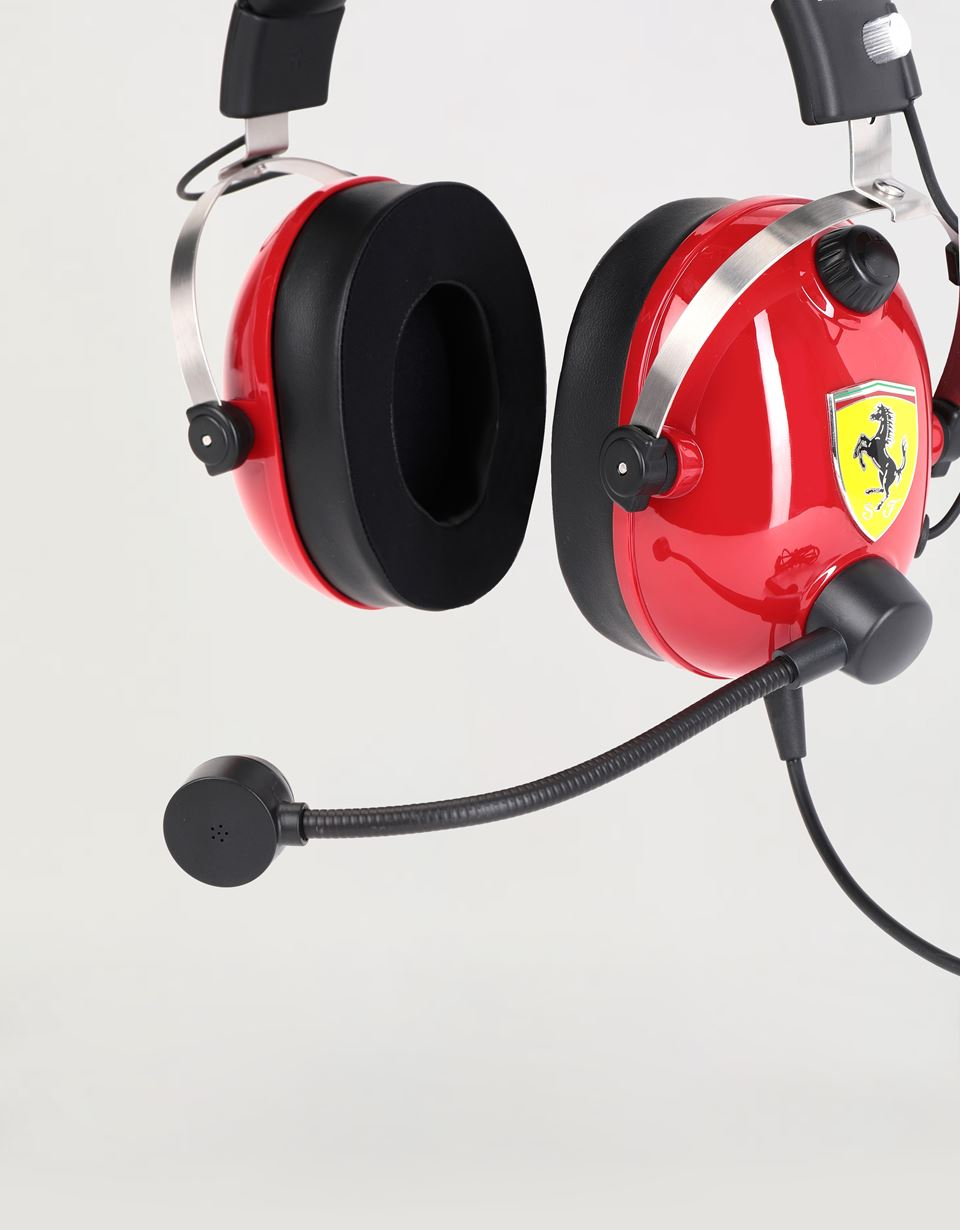 Scuderia Ferrari Online Store - T.Racing Scuderia Ferrari Edition gaming headset by Thrustmaster - Headphones