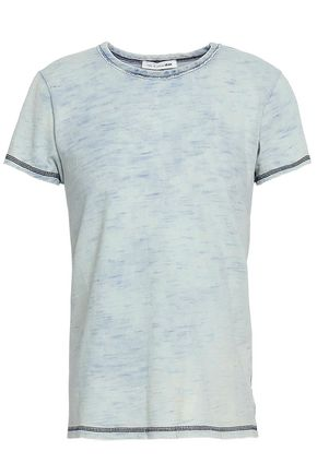 RAG & BONE Bleached cotton-jersey T-shirt