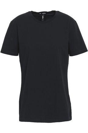 VERSUS VERSACE Monogram-trimmed cotton-jersey T-shirt