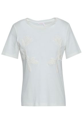 SEE BY CHLOÉ Cotton-jersey T-shirt
