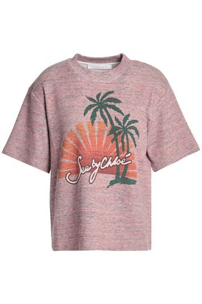 SEE BY CHLOÉ Printed cotton T-shirt