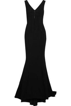 DOLCE & GABBANA Fluted crepe gown