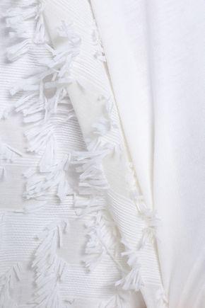SEE BY CHLOÉ Fil coupé cotton-jersey top