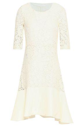 SEE BY CHLOÉ Paneled cotton-blend crochet dress