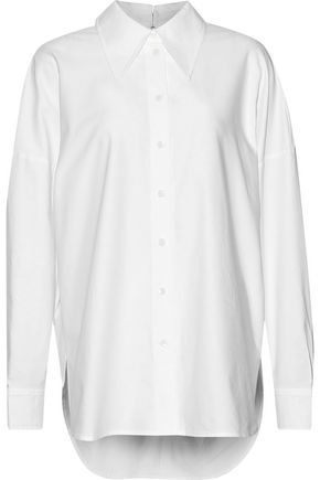 TIBI Cotton Oxford shirt