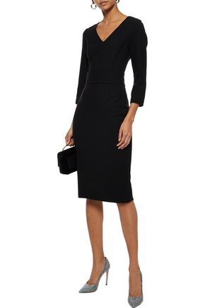 52dc10a321f5 GOAT Foxy wool-crepe dress