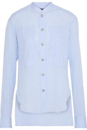 BALMAIN Cotton-blend gauze shirt