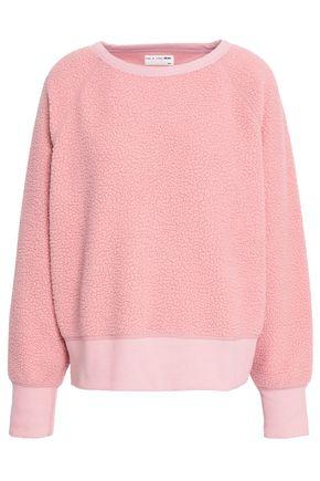 RAG & BONE Stretch-cotton fleece sweatshirt