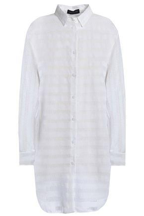 PIAZZA SEMPIONE Laser-cut jacquard shirt