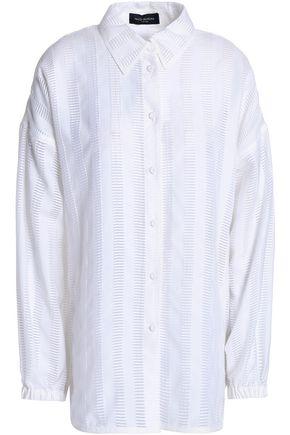 PIAZZA SEMPIONE Burnout jacquard shirt