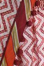 TALITHA Pompom-embellished printed cotton and silk-blend kaftan