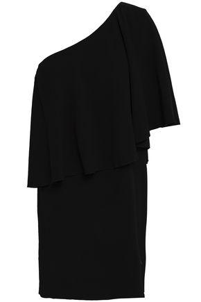 BA&SH Layered crepe mini dress