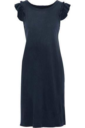 CURRENT/ELLIOTT The Ruffle Muscle cotton-jersey dress