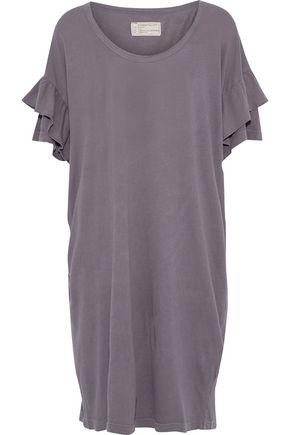 CURRENT/ELLIOTT The Ruffle Roadie cotton-jersey mini dress