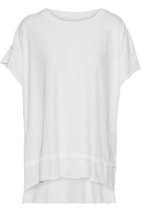 CURRENT/ELLIOTT The High Low cotton-jersey T-shirt