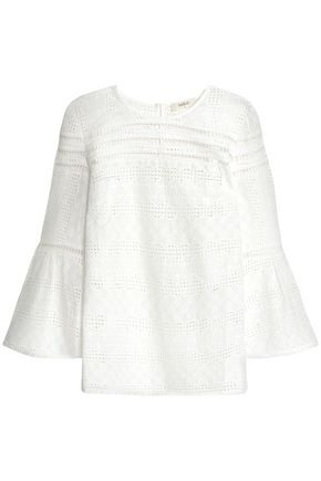 BA&SH Broderie anglaise cotton top