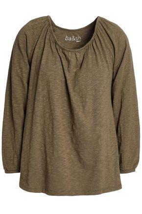 BA&SH Slub cotton-jersey top