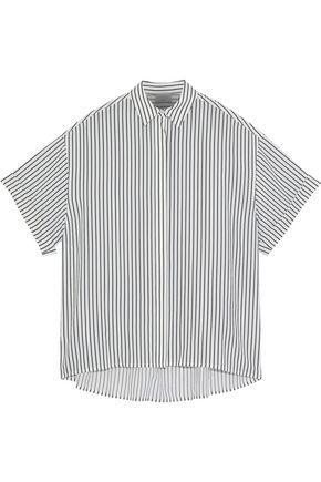 GREY JASON WU Striped poplin shirt