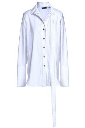 ELLERY Draped cotton shirt